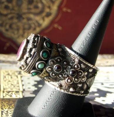Казахский перстень