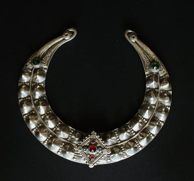 Mangal Pashtun torque. Originally part of the Janata collection (see p. 134, Schmuck in Afghanistan)
